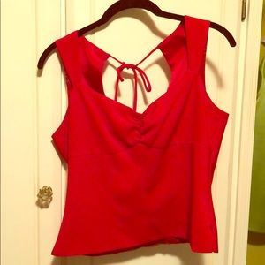 Tops - Red Summer Top